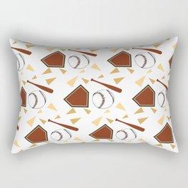 Baseball Pattern Rectangular Pillow