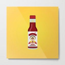 Tapatío Hot Sauce Metal Print