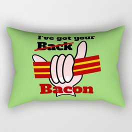 Bacon Rectangular Pillow