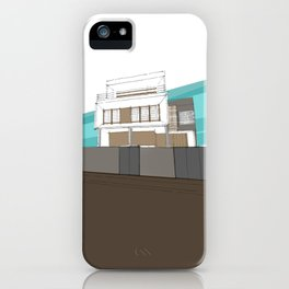 Stilt house iPhone Case