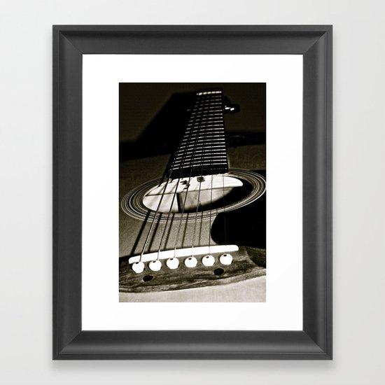 """Play My Song Framed Art Print"