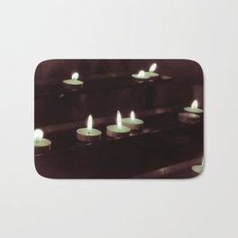 split toning candels Bath Mat