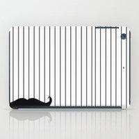 moustache iPad Cases featuring Moustache by PintoQuiff
