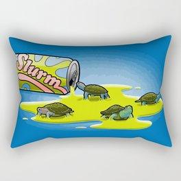Slurm and Turtles Rectangular Pillow