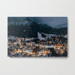 Cortina D'Ampezzo Metal Print