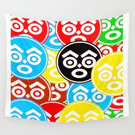 """ZULU NATION: MULTI-COLOR LOGO DUECE"" Wall Tapestry"