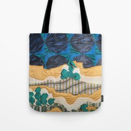 Deserted Stormscape Tote Bag