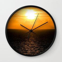 The Isle of the Sun Wall Clock