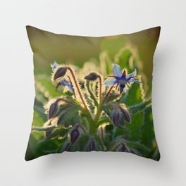 The Beauty of Weeds Throw Pillow