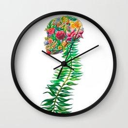 Natural Bones Wall Clock