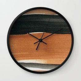 abstract minimal 12 Wall Clock