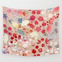 blossom Wall Tapestries featuring Blossom by Marta Olga Klara