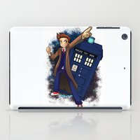 doctor who iPad Cases featuring Doctor Who by Lucy Fidelis