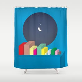 (ISO)TOPIA Shower Curtain