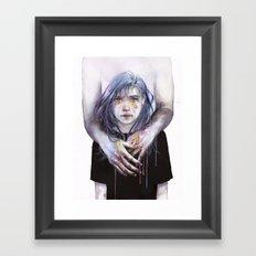 tiny creature Framed Art Print