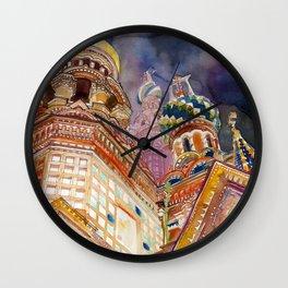Saint Petersburg Wall Clock