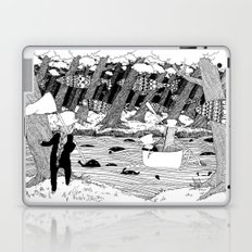 Traveling through the forest in the cup Laptop & iPad Skin