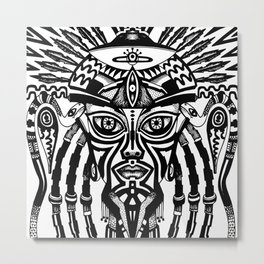 Afrodeity Metal Print