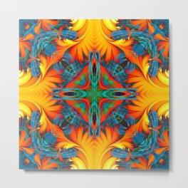 Mandala #8 Metal Print