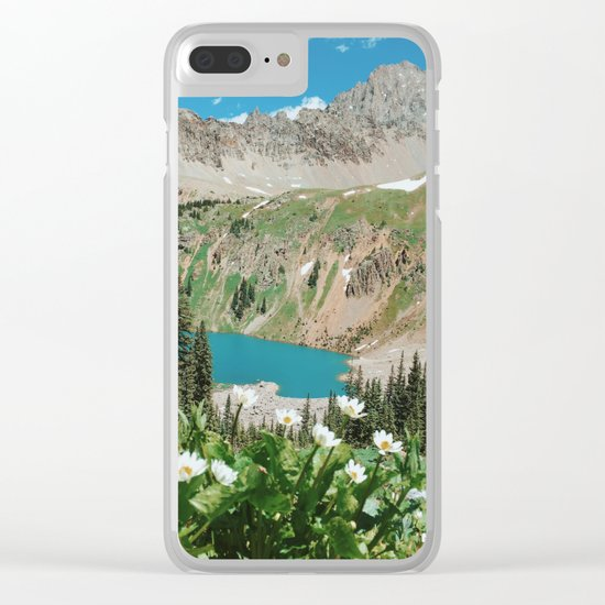 The Blue Lakes of Colorado Clear iPhone Case