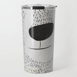 Bear Face Travel Mug