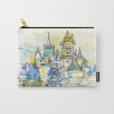 Cinderella's Castle Magic Kingdom  Carry-All Pouch