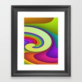 fluid -15- Framed Art Print