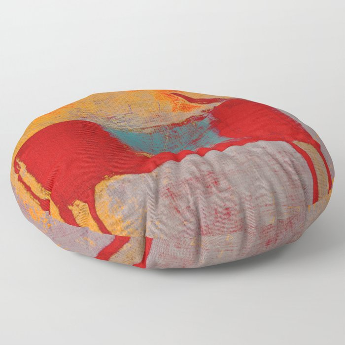 Toro Rojo Floor Pillow