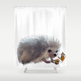 Acorn Tea Shower Curtain