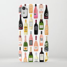 Wine & Champagne Bottles iPhone Case