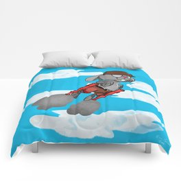 Captain Bazooka Pants, the Wonder Rabbit Comforters