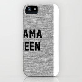 Drama Queen iPhone Case