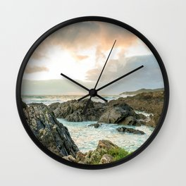 Coastal view Wall Clock