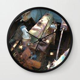 Overgrown Engine Wall Clock
