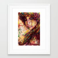 russian Framed Art Prints featuring Russian braid by ururuty