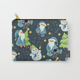 Christmas Winter Pattern Carry-All Pouch