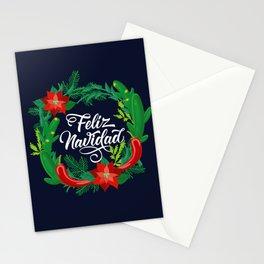 Feliz Navidad Stationery Cards