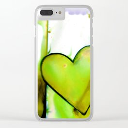 Heart Dreams 1C by Kathy Morton Stanion Clear iPhone Case