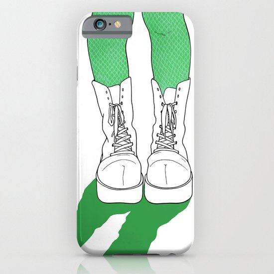 Rainbow Gossip - Green iPhone & iPod Case