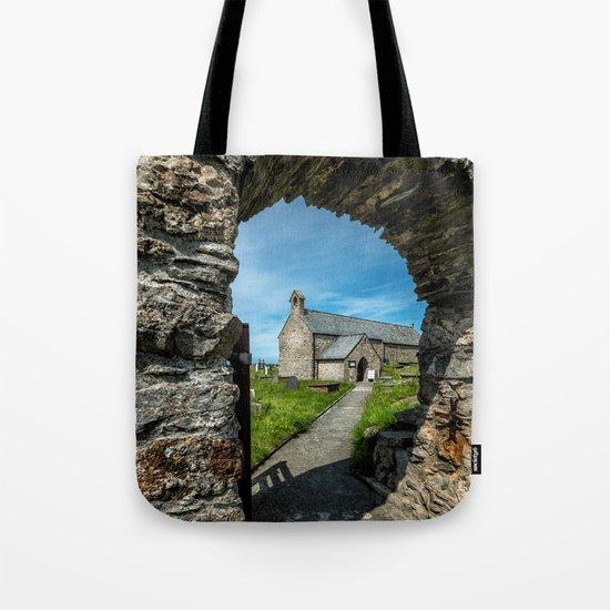 Church of Llanbadrig Tote Bag