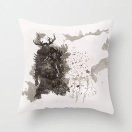 Be a Hero - Bear spirit Throw Pillow