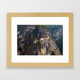 Bhutan: Paro Taktsang Framed Art Print