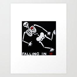 Falling In Love Art Print