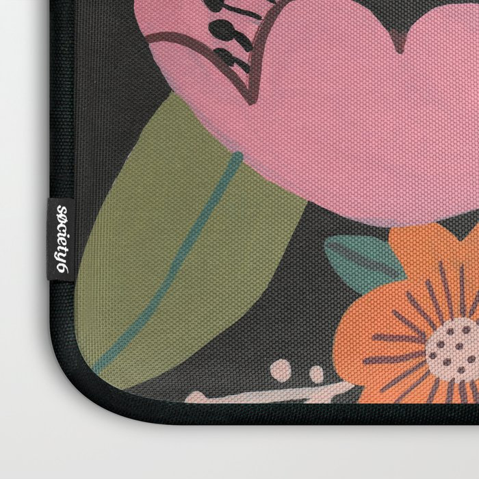 Floral Guache Laptop Sleeve