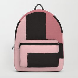 Pink Abstract II Backpack