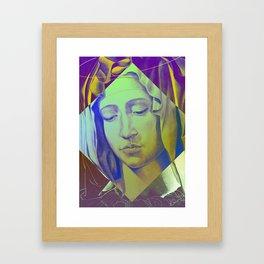 Mary 05 Framed Art Print