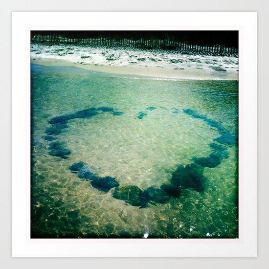 Bay Love Art Print