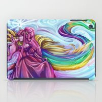 princess bubblegum iPad Cases featuring Her Royal Highness - Princess Bubblegum by Poofette