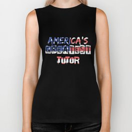 America's Greatest Tutor Biker Tank