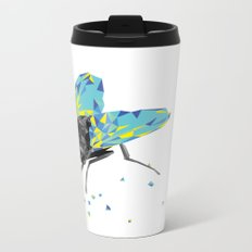 Geosafari | Fly (White) Metal Travel Mug